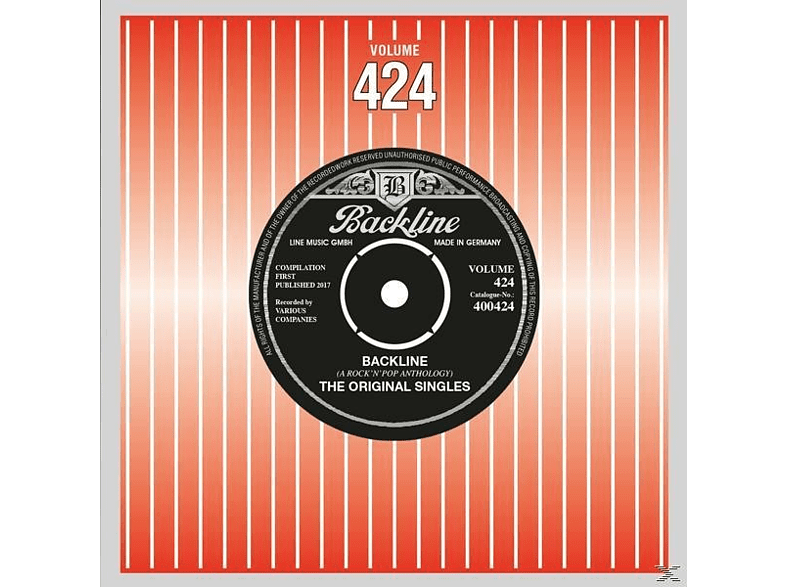 VARIOUS - Backline Vol.424 [CD]