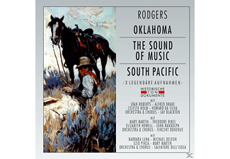 Chorus And Orchestra - Oklahoma/The Sound Of Music/South Pacific - (CD)