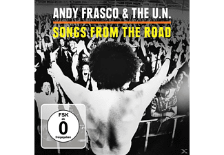 Andy and The U.N. Frasco - Songs From The Road - (CD + DVD Video)
