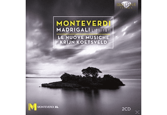 Krijn Koetsveld, Le Nuove Musiche - Madrigals/Libro Ii  - (CD)