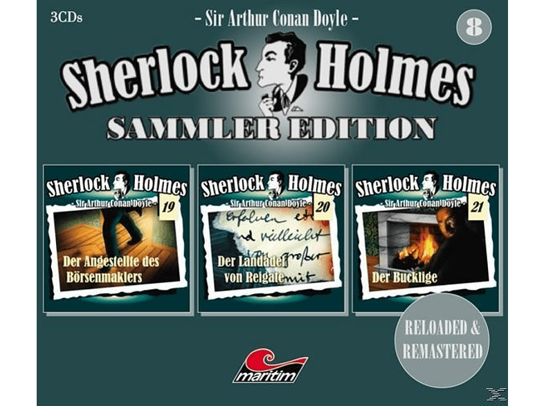 Sherlock Holmes Sammler Edition - Folge 8 - (CD)
