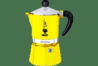 BIALETTI 4982 Rainbow Espressokocher Gelb