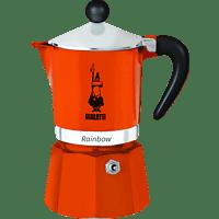 BIALETTI 4991 Rainbow Espressokocher Orange