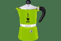 BIALETTI 4972 Rainbow Espressokocher Grün