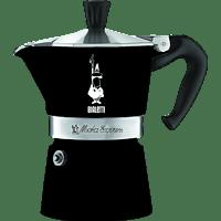 BIALETTI 4953 Moka Express Espressokocher Schwarz