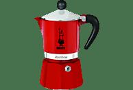 BIALETTI 4962 Rainbow Espressokocher Rot