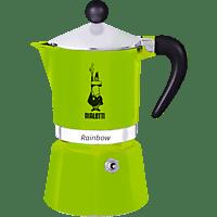 BIALETTI 4971 Rainbow Espressokocher Grün