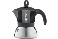 BIALETTI 4812 Moka Induktion Espressokocher Schwarz