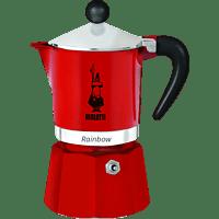 BIALETTI 4961 Rainbow Espressokocher Rot