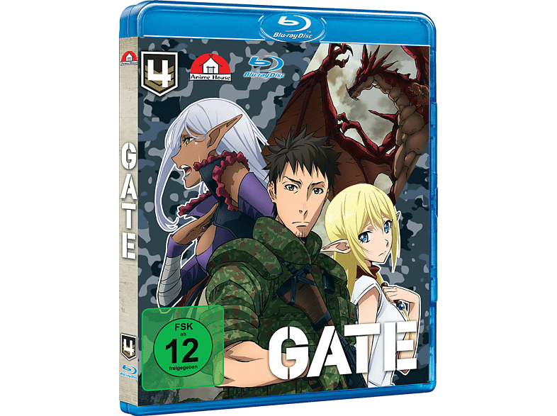 Gate - Vol. 4 [Blu-ray]