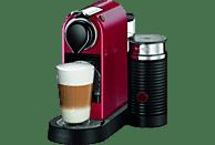 KRUPS Nespresso Kaffeemaschine CitiZ & Milk XN 7605 Cherry Red