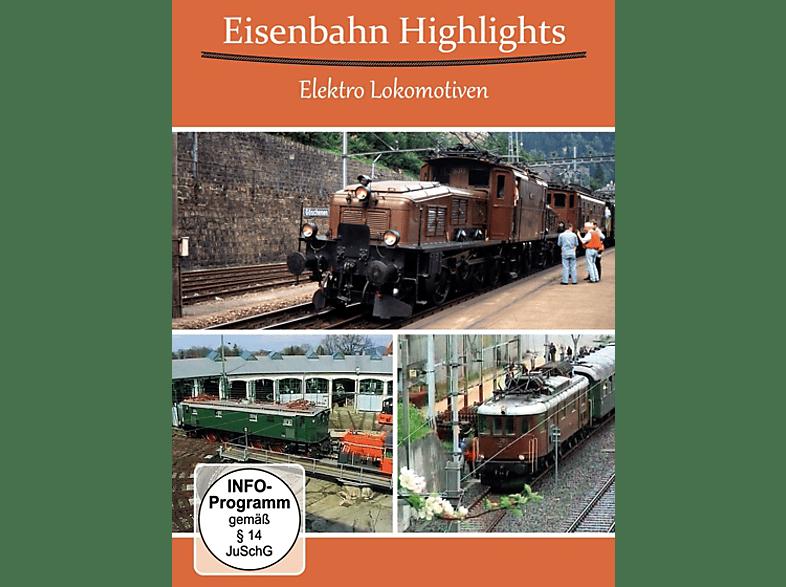 Eisenbahn Highlights Elektro Lokomotiven [DVD]