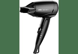 BRAUN Satin Hair 1 HD 130 Style&Go Haartrockner Schwarz (1200 Watt)