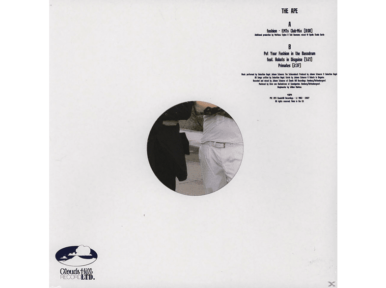 The Ape - Fashion EP [Vinyl]