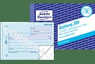 AVERY ZWECKFORM 306-5 Quittung MwSt. separat ausgewiesen DIN A6 5er Pack