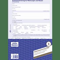 AVERY ZWECKFORM 2850 Einheitsmietvertrag für Wohnungen und Häuser DIN A4