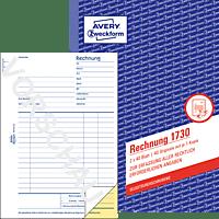 AVERY ZWECKFORM 1730 Rechnungsbuch