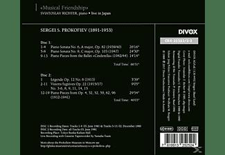 Richter Svjatoslav - A Musical Friendship-Sviatoslav Richter Live in  - (CD)