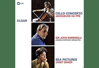 Janet Baker, John Barbirolli, London Symphony Orchestra, Du Pre Jacqueline - Cellokonzert/Sea Pictures  - (Vinyl)