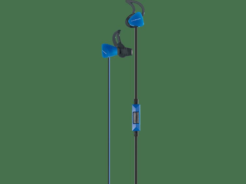 VIVANCO SPX 60, In-ear Kopfhörer  Blau