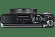 CANON Powershot SX730 HS Digitalkamera Schwarz, 20.3 Megapixel, 40x opt. Zoom, LCD, WLAN