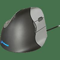 EVOLUENT VerticalMouse 4 Right ergonomische Maus, Schwarz