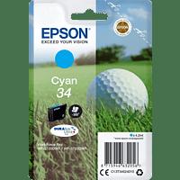 EPSON Original Tintenpatrone Golfball Cyan (C13T34624010)