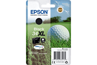 EPSON Original Tintenpatrone Golfball Schwarz (C13T34714010)