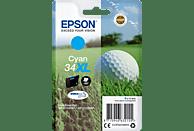 EPSON Original Tintenpatrone Golfball Cyan (C13T34724010)