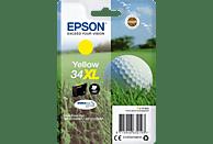 EPSON Original Tintenpatrone Golfball Gelb (C13T34744010)