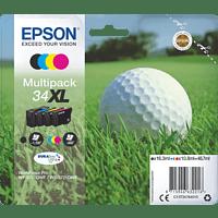 EPSON Original Tintenpatrone Golfball Multipack mehrfarbig (C13T34764010)
