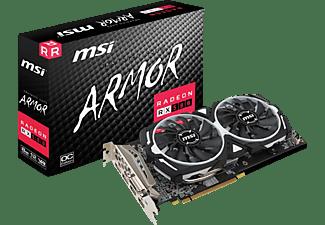 MSI Radeon RX 580 Armor 8GB OC (V341-064R) (AMD, Grafikkarte)