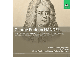 Crowe,Robert/Dolata,David/Coelho,Victor/Il Furioso - Amen,Alleluia Arias - (CD)