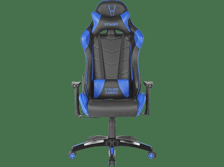 Silla Gaming Woxter Stinger Station Altura Y Reposabrazos Ajustables Azul