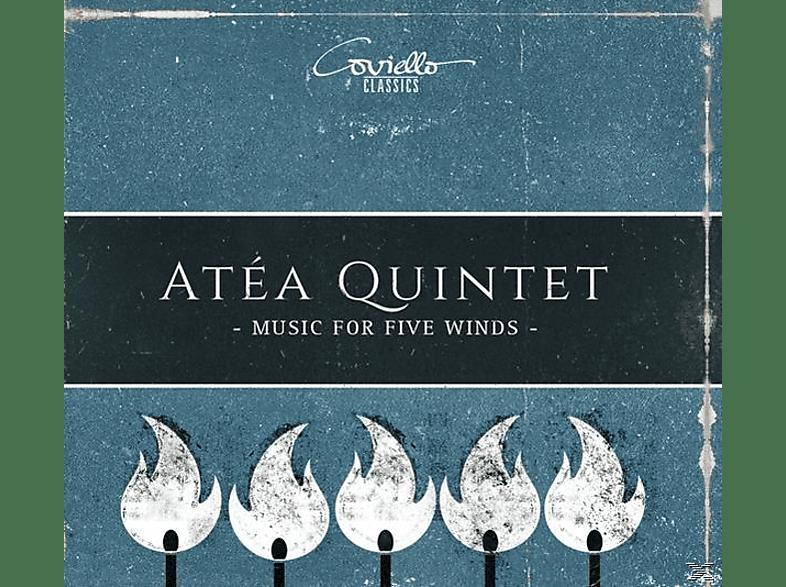 Atéa Quintet - Werke für Bläserquintett [CD]