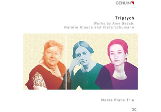 Monte Piano Trio - Triptych - (CD)