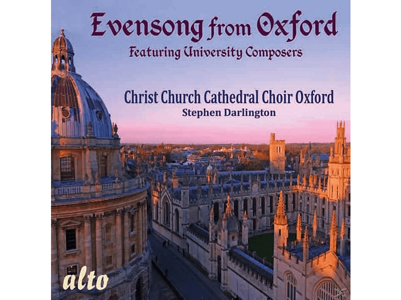 Oxford Christ Church Cathedral Choir - Evensong from Oxford [CD]