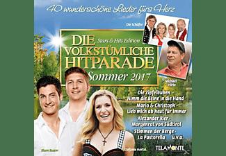 VARIOUS - Die volkstümliche Hitparade Sommer 2017  - (CD)