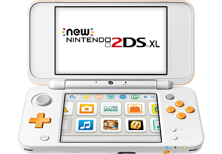 NINTENDO New Nintendo 2DS XL - Vit - Orange