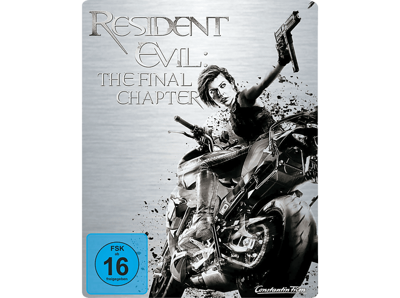 Resident Evil - The Final Chapter (Exklusives Steelbook) [Blu-ray]