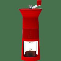 BIALETTI DCDESIGN02 Macinacaffé Kaffeemühle Rot