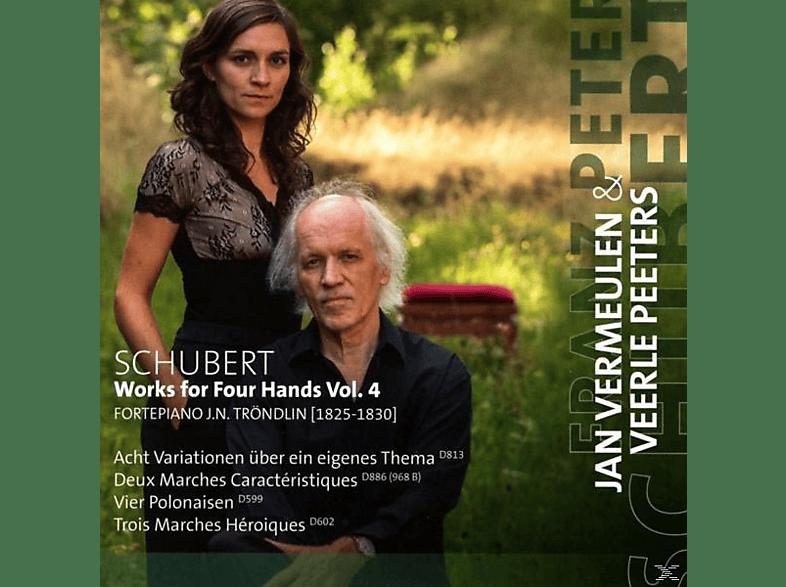 Jan Vermeulen, Veerle Peeter - Klaviermusik Zu Vier Händen Vol.4 [CD]