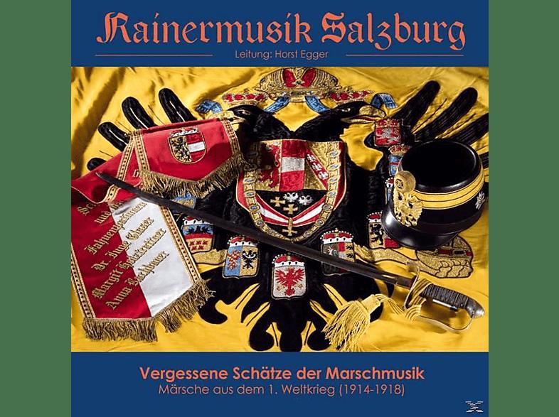 Ltg.Horst Egger Rainermusik Salzburg - VERGESSENE SCHÄTZE DER MARSCHMUSIK [CD]