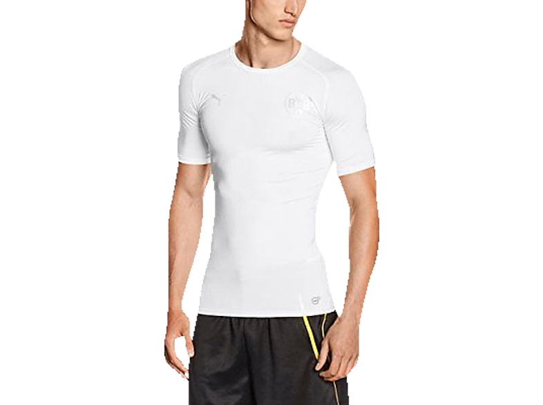 PUMA BVB 09 Dortmund T-Shirt, Weiß