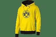PUMA BVB 09 Dortmund Hoody, Gelb-Schwarz