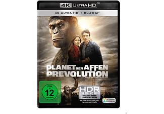 Planet der Affen - Prevolution 4K Ultra HD Blu-ray + Blu-ray