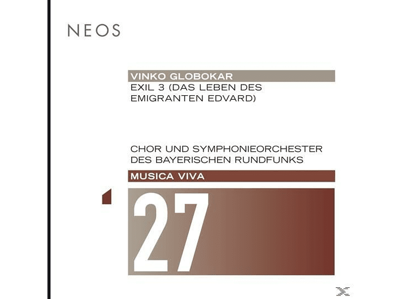 Chor-Und Symphonieorch.Des BR/+ - Exil 3/Das Leben Des Emigranten Edvard  [SACD Hybrid]