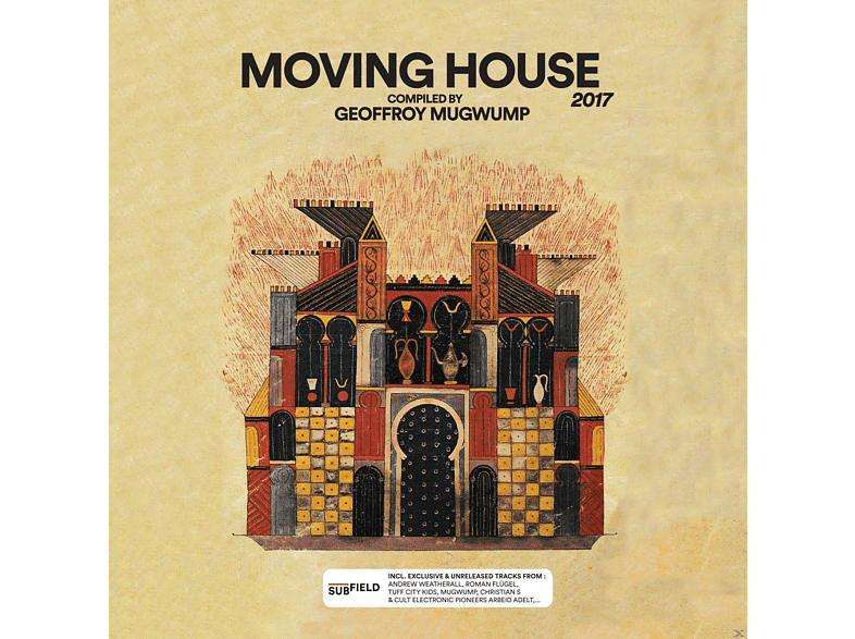 VARIOUS - MOVING HOUSE 2017 (DIGI) [CD]