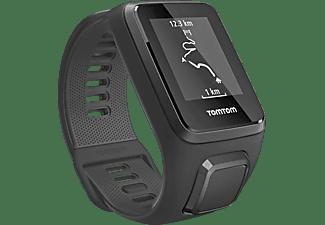 Reloj deportivo - TomTom Spark 3 Cardio, Negro, Correa grande
