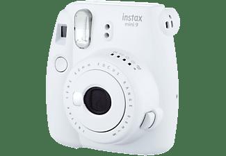 Cámara instantánea - Fujifilm Fuji Instax Mini 9 Wh, Fotografías de 62×46 mm, Blanco